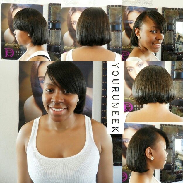 The 32 best Healthy Hairstyles while having a Relaxer images on ...
