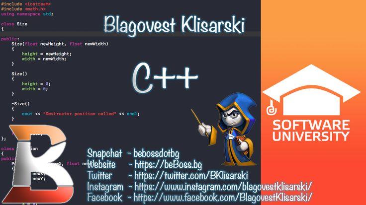 C++ Programming ООP in C++ beBoss™ C programming