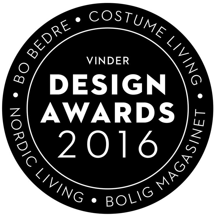 """STORM SYSTEM(R) - Winner of the Design Awards 2016 - Category """"SMART HOME""""  www.oneA.dk"""