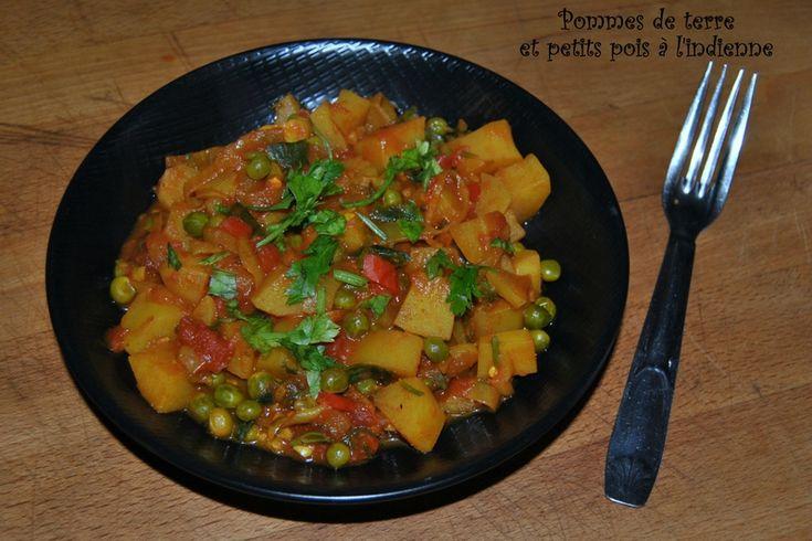 Pommes de terre et petits pois à l'indienne