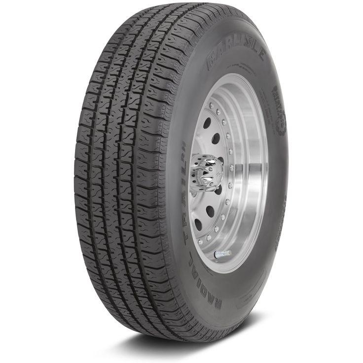 Carlisle Radial Trail RH Trailer Tire - ST145R12 LRD/8 ply