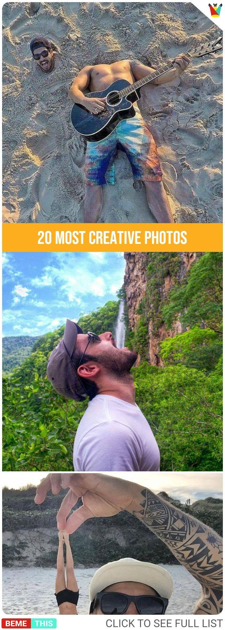 20 Die meisten kreativen Fotos bemethis
