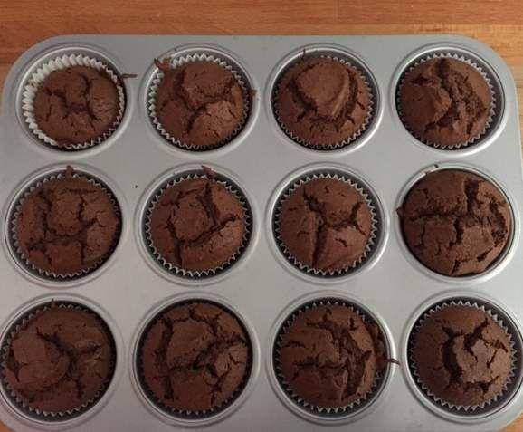 Rezept Schoko-Baileys-Muffins von MMausl - Rezept der Kategorie Backen süß