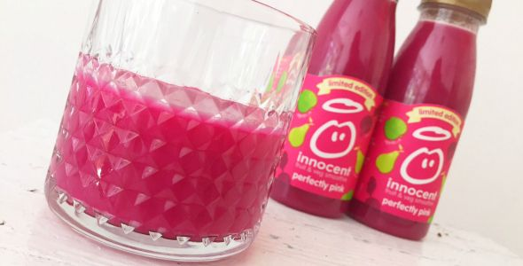 innocent smoothie perfectly pink