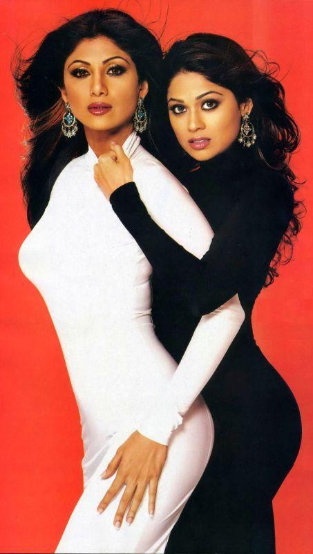 Shamita Shetty & Shilpa Shetty #bollywood
