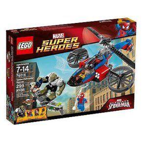LEGO 76016 - SUPER HEROES - LE SAUVETAGE EN SPIDER HELICOPTERE #Lego - R24108 à 57,00 € chez eBay