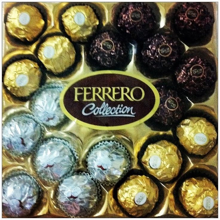 Ferrero Rocher, Ferrero Rondnoir, Ferrero Garden (Coconut)