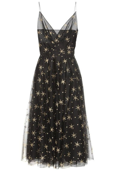 Black star dress