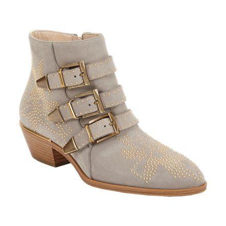 Chloé Susanna Studded Ankle Boots at Barneys.com