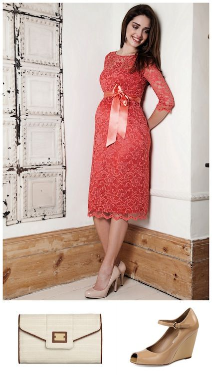 Wedding outfits for guests maternity for Pregnant wedding guest dress