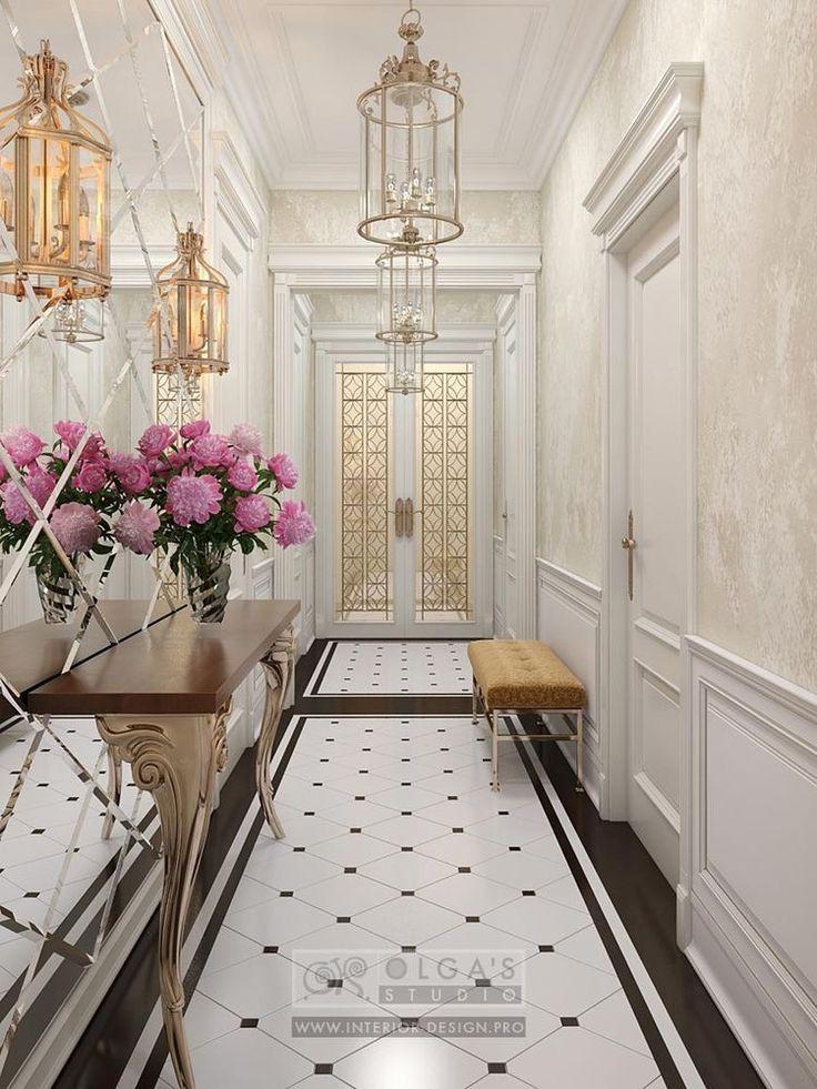 Glamorous hallway