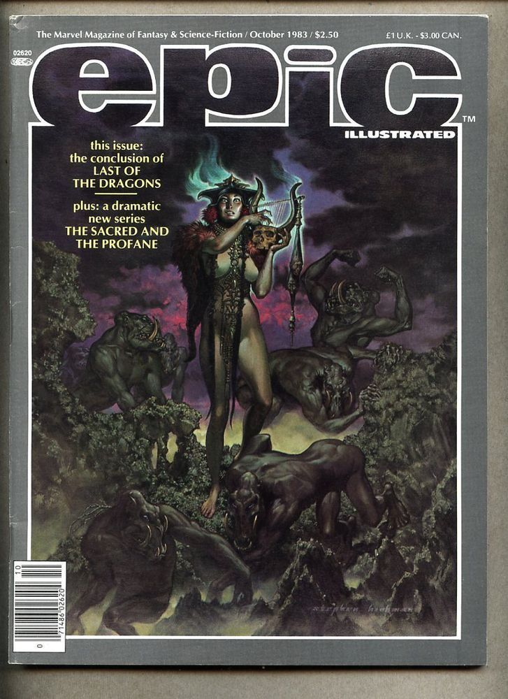 epic illustrated #20-1983 fn #Marvel magazine ken steacy / pepe moreno from $0.99