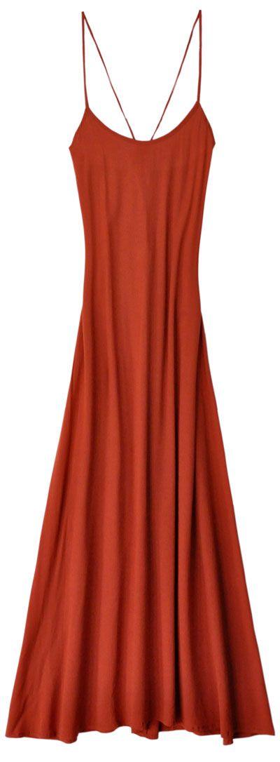 Cleobella Tangerine Valor Dress