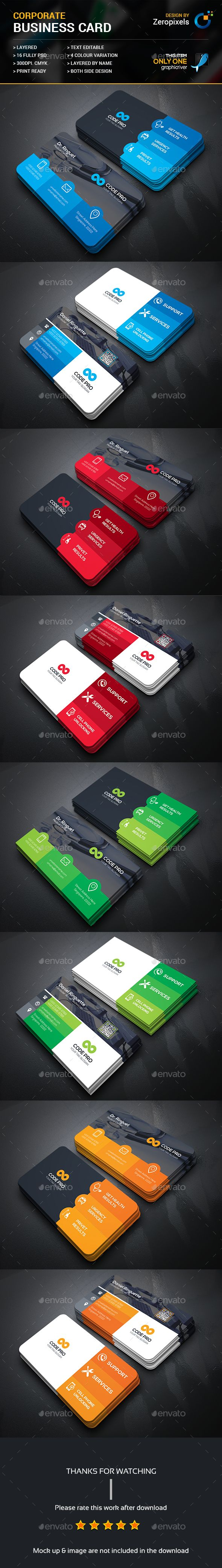 Doctor & Computer Service Business Card Template PSD. Download here: https://graphicriver.net/item/doctor-computer-service-business-card-bundle/17494516?ref=ksioks