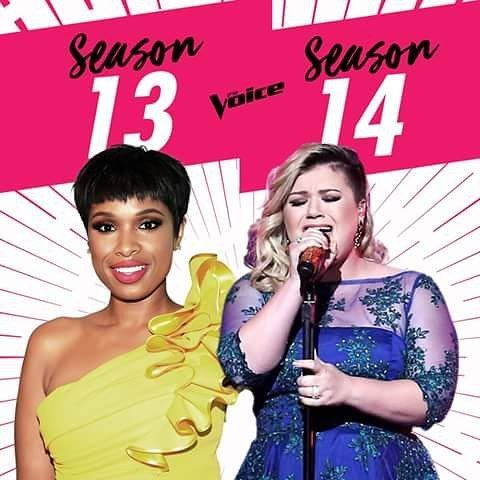 Even Though American Idol Is  Being Revived On ABC , The Voice Has Acquired Two Of Their Powerhouse Alums :  Jennifer Hudson Becomes A Coach On The Voice Season 13! Kelly Clarkson  Becomes A Coach On The Voice Season 14!  #TheVoice #TheVoiceSeason13 #TheVoiceSeason14 #JenniferHudson #KellyClarkson #AdamLevine #BlackShelton  #MileyCyrus #GwenStefani #AliciaKeys #ChristinaAguilera #CeLoGreen #Shakira #Usher #PharrellWilliams #CarsonDaly #AmericanIdol #Music #Talent #ThisIsTheVoice #NBC…