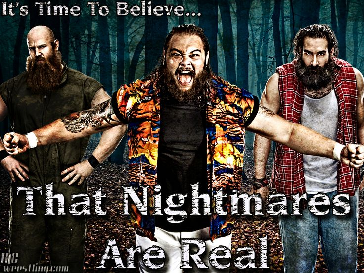 """the wyatt family wwe 