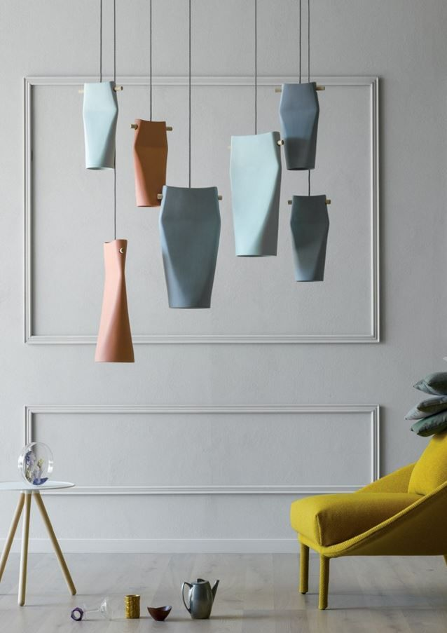 Ceramic pendant lamp DENT - @miniforms | www.bocadolobo.com/ #lighting ideas #lighting