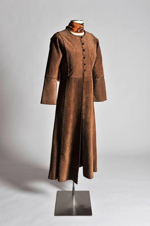 Manteau en peau.