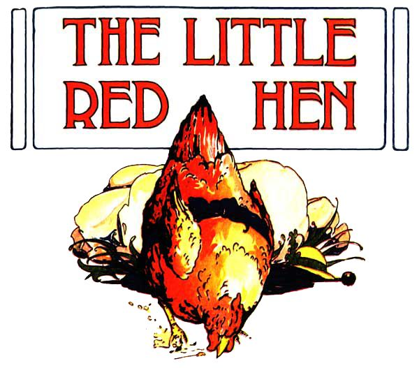 a very cute Visiting Teaching Conference about the Little Red Hen