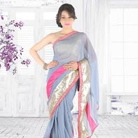 """A Bollywood inspiration saree worn by Actress Shraddha Das, well-known for her debut film """"Lahore"""".. Must have in your wardrobe..! #bollywood   #designer    #saree"""