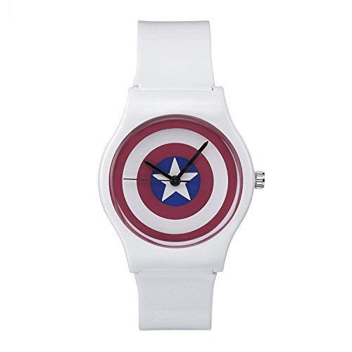 VIKI LYNN Uhr mit weiss Gummi Armband - http://uhr.haus/viki-lynn/viki-lynn-uhr-mit-weiss-gummi-armband