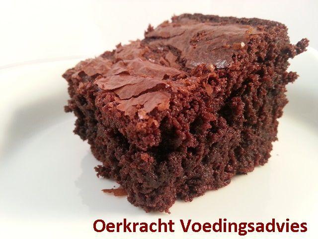 Brownies, lactosevrij en glutenvrij