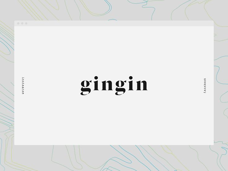 GinGin web by Frantisek Kusovsky