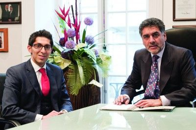 James Caan and Faisal Butt, asiansUK magazine, Asian magazine, Asians in business, Asian Fashion, British Asians, Dragons Den