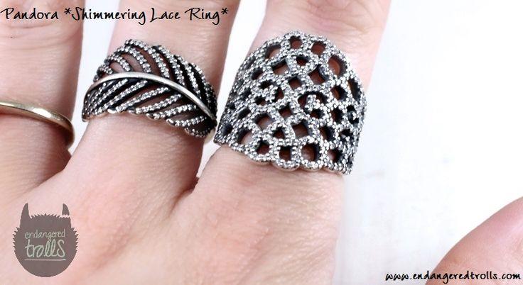 Pandora Shimmering Lace Ring