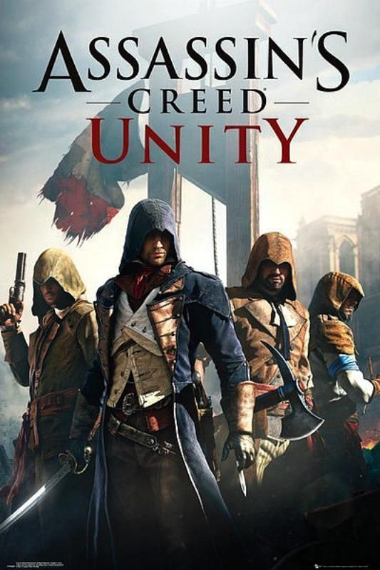 Assassin's Creed : Unity - Maxi Poster 61cm x 91.5cm (new & sealed)