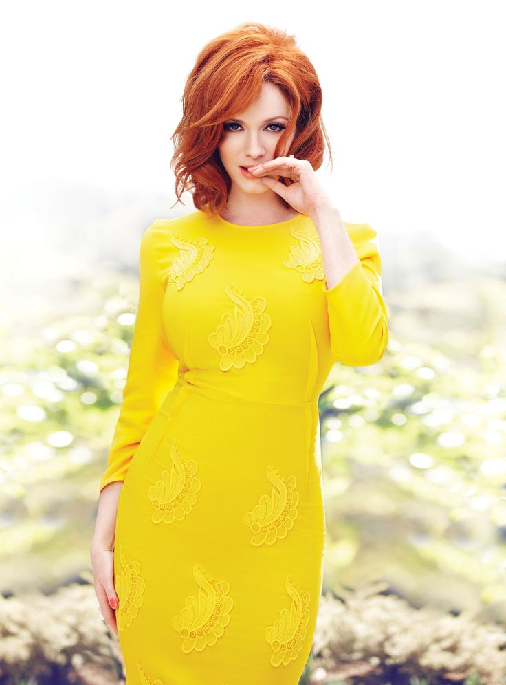 Christina Hendricks by Max Abadian for Flare Magazine (May 2013)