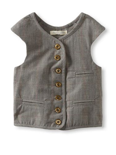 71% OFF Blu Pony Vintage Boy's Classic Vest (Jason's Favorite (Grey Plaid))