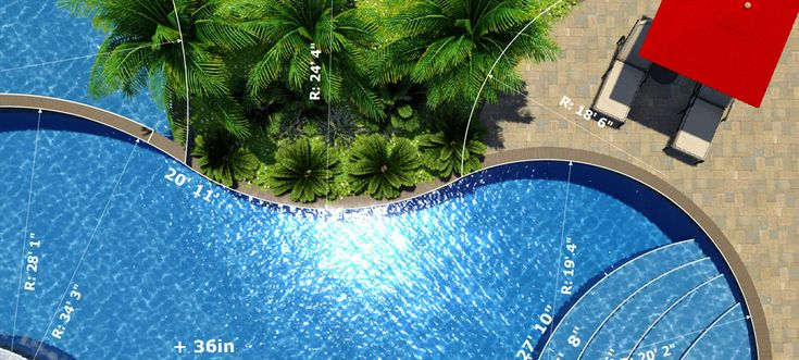 Download 20 free swimming pool templates here pool for Pool design templates