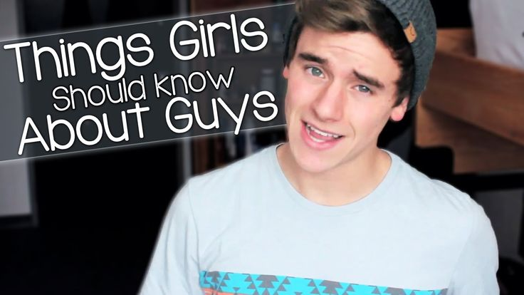 60 things girls need to know about guys
