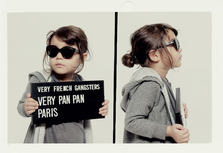 Very French Gangsters - Eyewear for Kids. Gah!