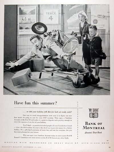 1958 Bank of Montreal