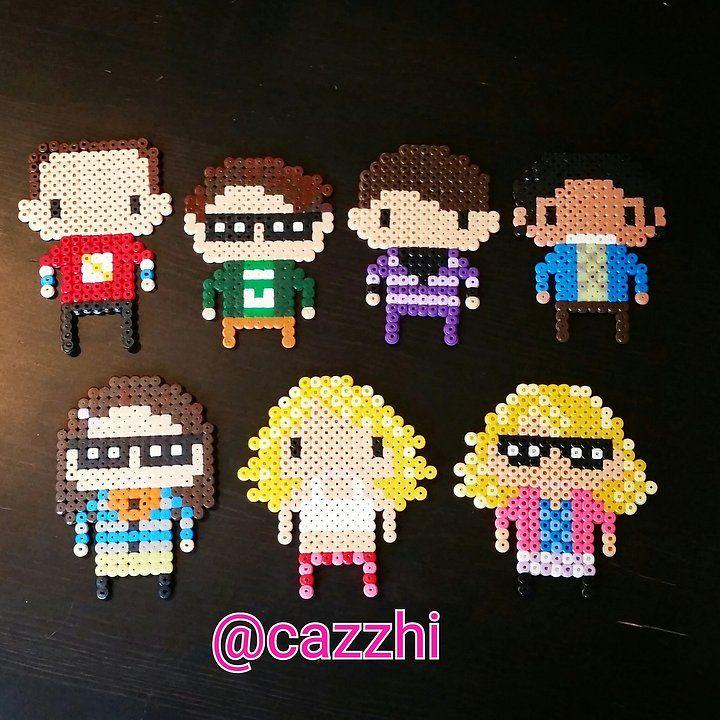 The Big Bang Theory hama beads by cazzhi