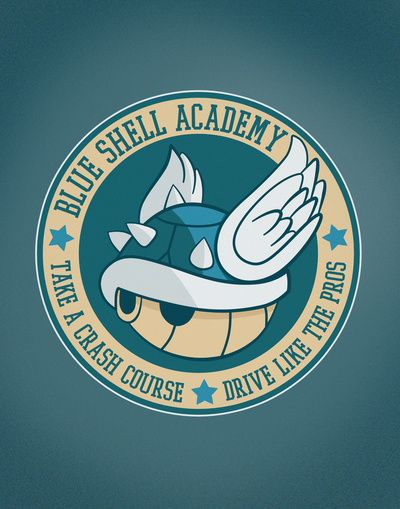 Blue Shell Academy  by Fishbiscuit