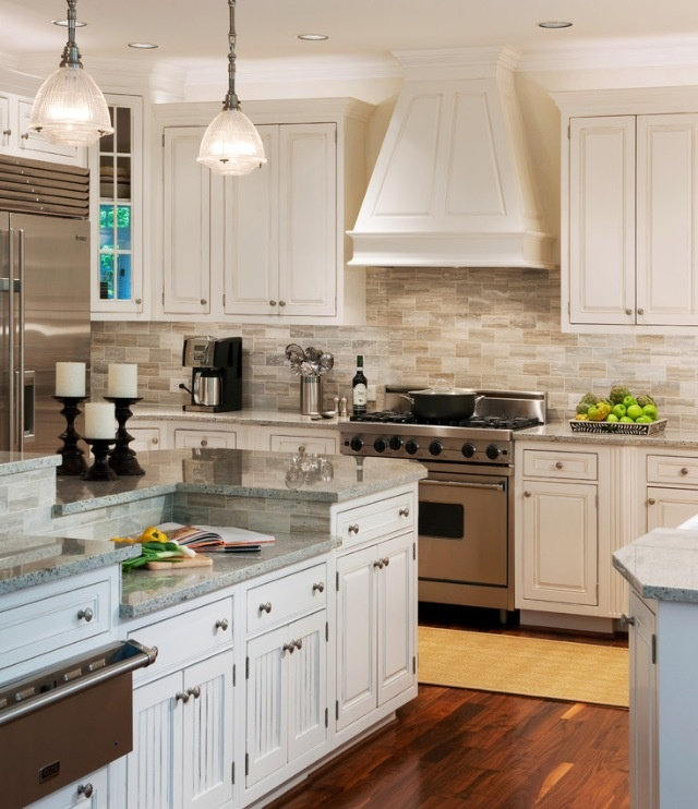 Kitchen Backsplash Ideas Pictures: Neutral Backsplash