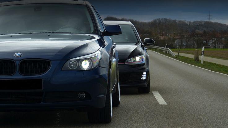 VW Golf VII GTI tailgating