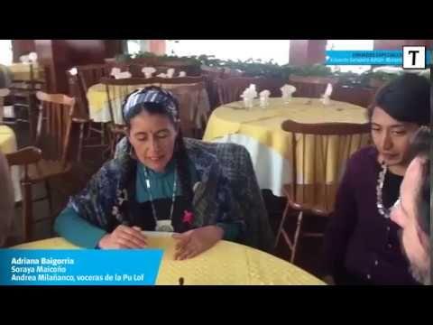 (1) Voceras de la comunidad mapuche sostienen que el cuerpo fue plantado - YouTube