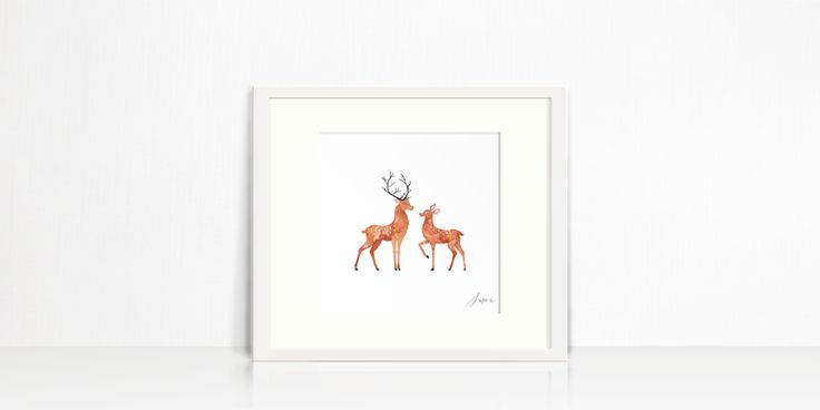 Deerly Love by Susan Brand Design for sale on http://hellopretty.co.za