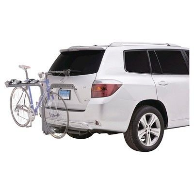 SportRack Pathway 4 Hanging Hitch Bike Carrier, 4-Bikes, Grey