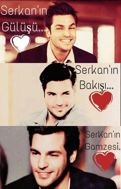 Serkan's smile. Serkan's looks. Serkan's winks.♥♥♥