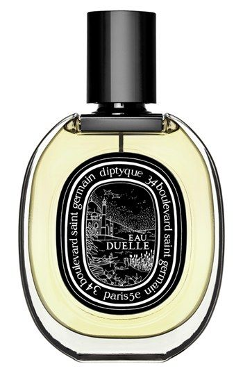 "diptyque 'Eau Duelle' Eau de Parfum. "" A warm fragrance with a blend of vanilla and bourbon."""