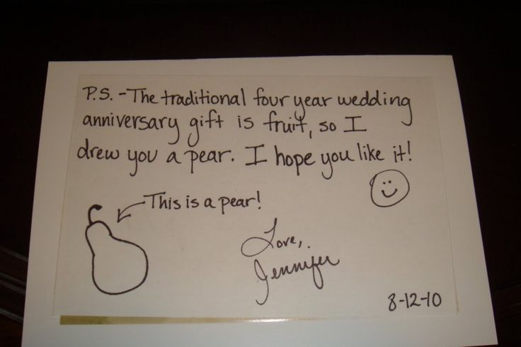 Gift To Husband On Wedding Anniversary: 25+ Unique 4th Wedding Anniversary Ideas On Pinterest