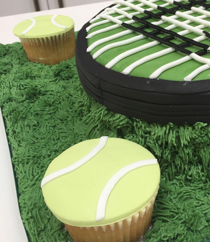Tennis ball cupcakes. The Cake Lab Bakery, Ranelagh, Dublin, Ireland. Artisan Baking Studio.
