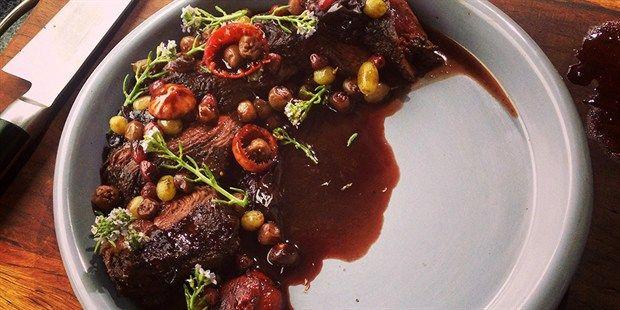 Kangaroo with Australian Native Fruits, Herbs and Spices, recipe by Matt Stone