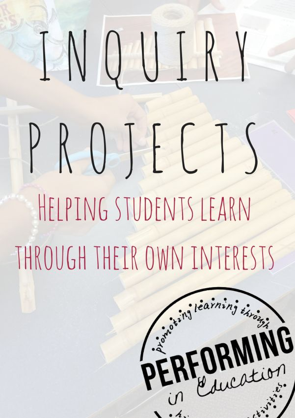 Using inquiry projects to engage students in reading and writing. Great end of the year activity!