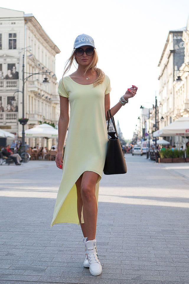 Sukienka cytrynowa http://fasardi.com/product-pol-10037-Sukienka.html